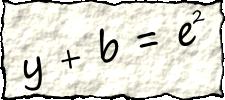 y + b